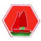 Zeilen-kielboot-I